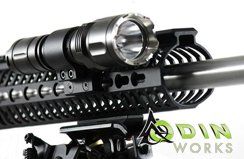 Odin Works Mlok M Lok Flashlight Light Mount Acc Flm Ml
