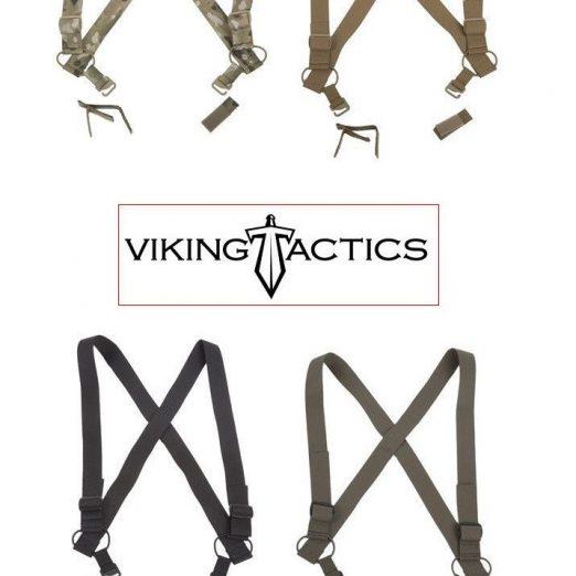 VTAC-SS-BK Viking Tactics VTAC Combat Suspenders Black