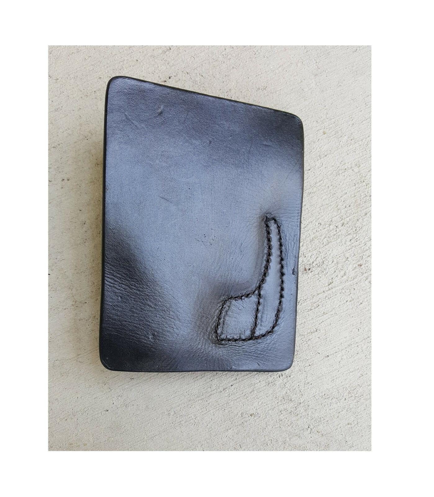 Tagua Leather For Keltec 380 & Ruger LCP - Back Pocket Holster PK5-010 - RH